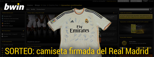 Sorteamos camiseta firmada R.Madrid