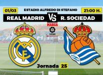 Real Madrid v Real Sociedad